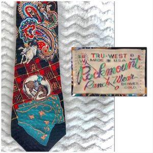 Rockmount Ranch Wear silk tie